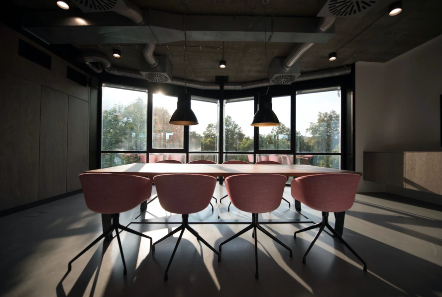 Industrial conference room